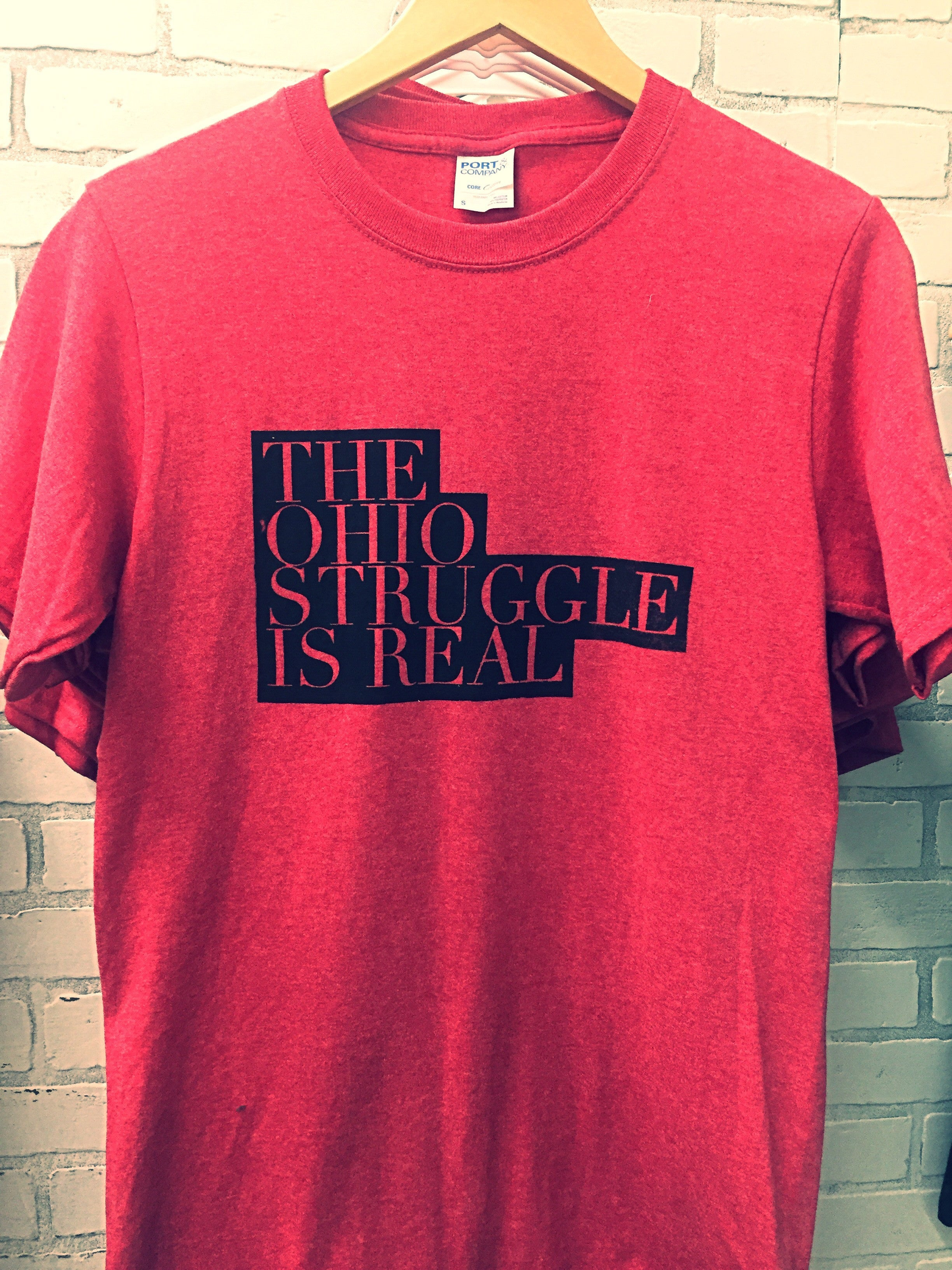 """The Ohio Struggle is Real"" Tee"