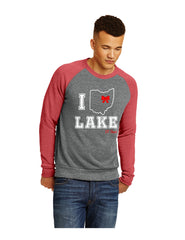 Raglan Crew Neck Sweatshirt-Cheer Logo