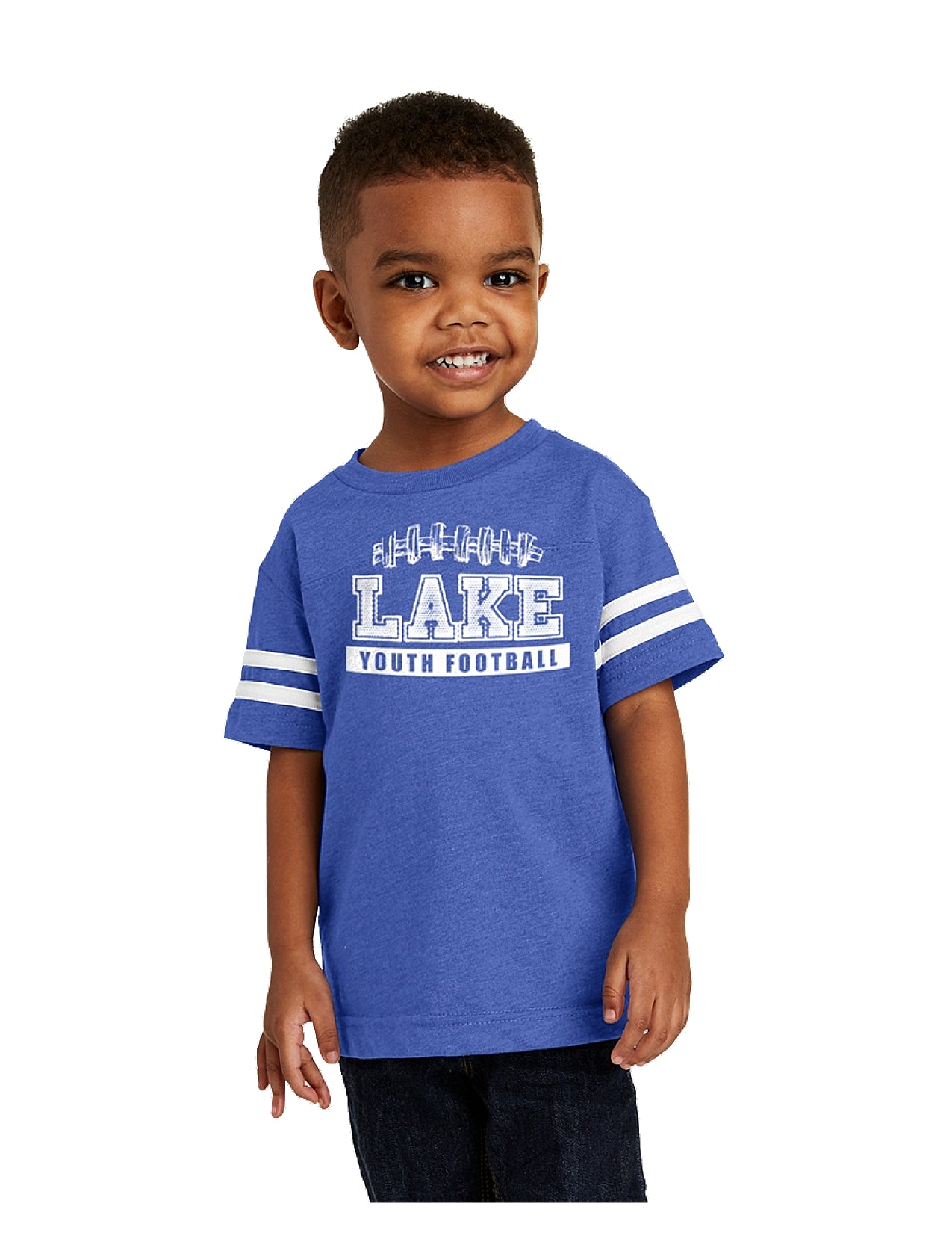 Toddler Football Jersey Tee
