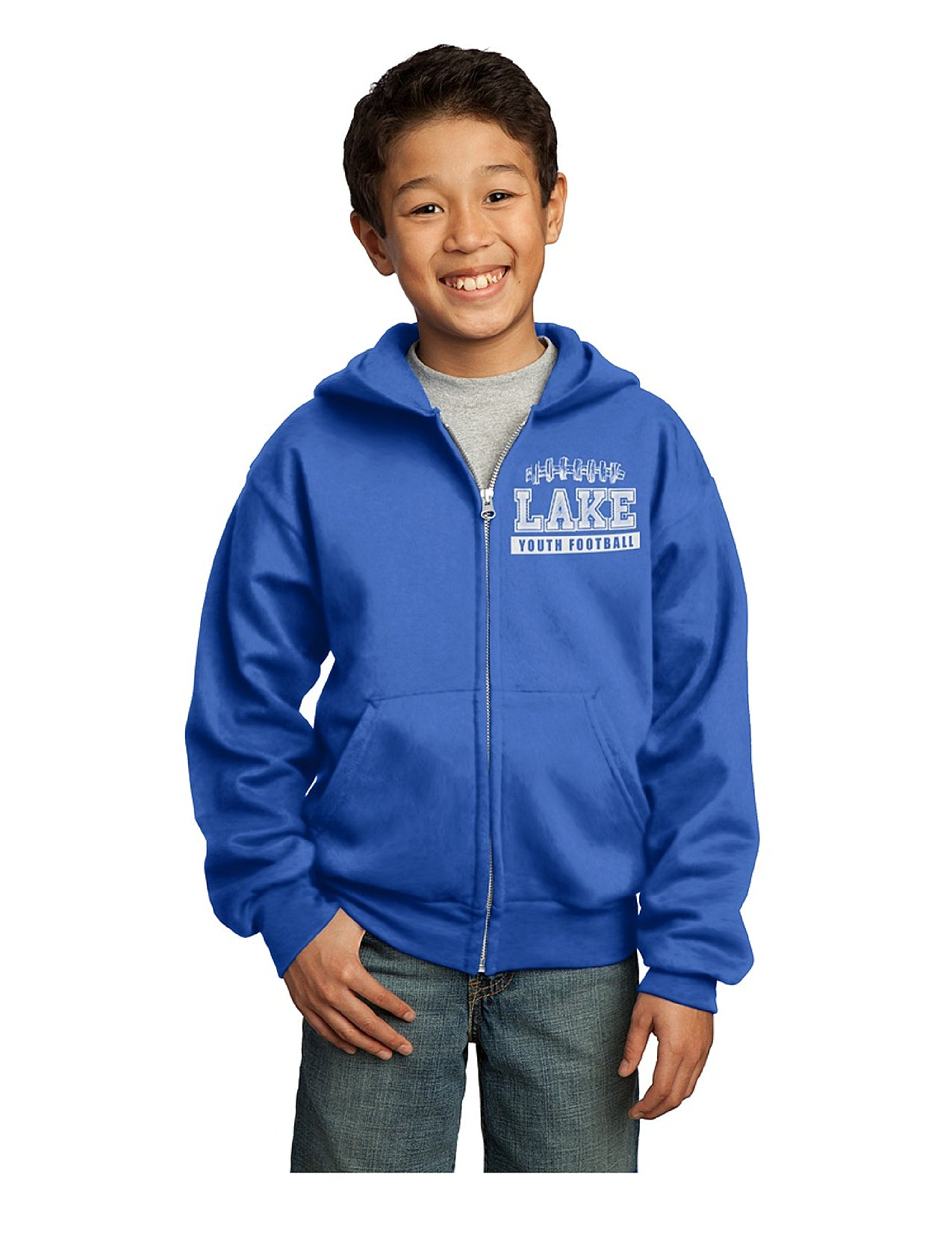 Youth Zip-Up Sweatshirt