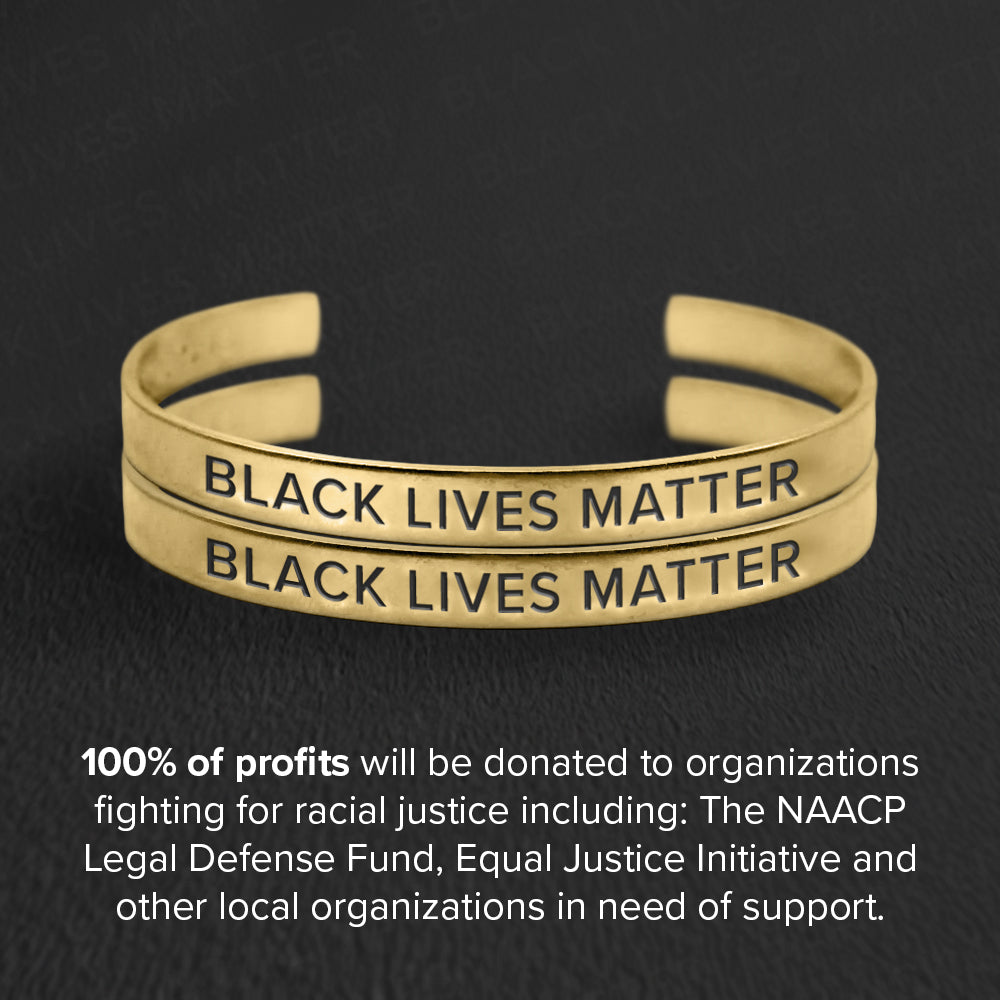 Black Lives Matter Cuff Set