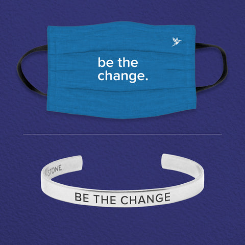 Be the Change Cuff + Mask Set - Pre Order
