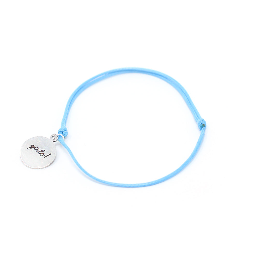 Who Run the World? Girls! - Cord Bracelet