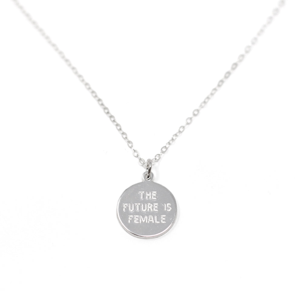 The Future is Female Necklace - Mini