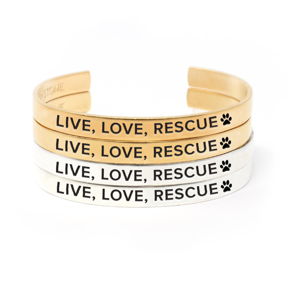 Animal Rescue Cuff - Set of 4