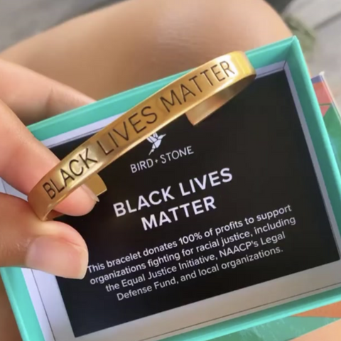 Black Lives Matter Cuff Set - Pre Order