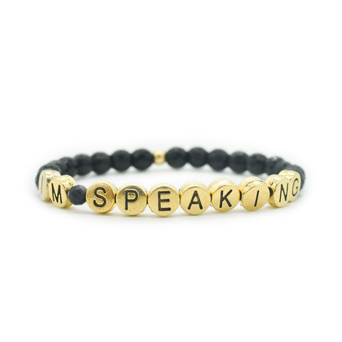 Im Speaking Bracelet