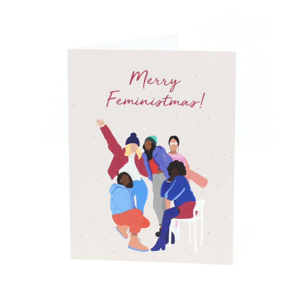 'Merry Feministmas!' Holiday Card