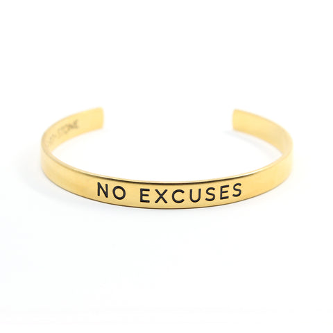 Bird + Stone No Excuses Gold-Plated Cuff