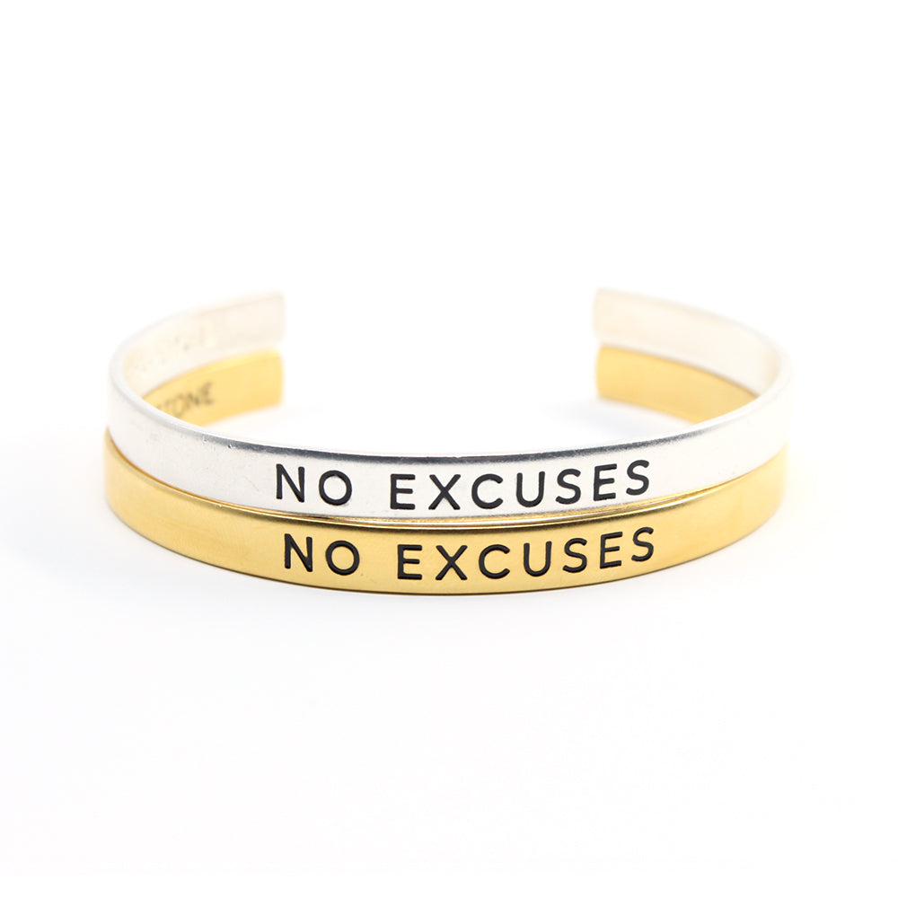 Bird + Stone No Excuses Cuff Bracelet Set - TheSkimm
