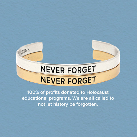'Never Forget' Holocaust Remembrance - Set of Two - Pre Order