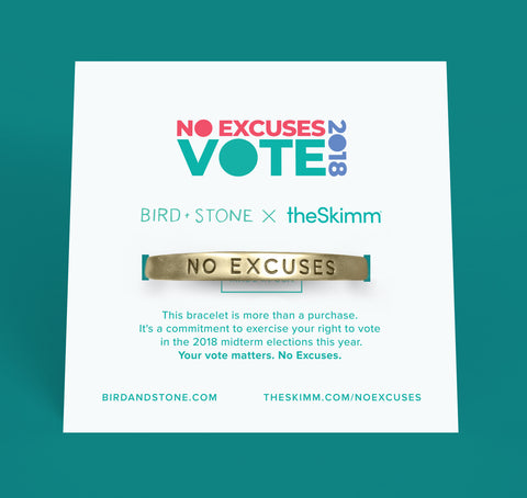 No Excuses Cuff - Gold