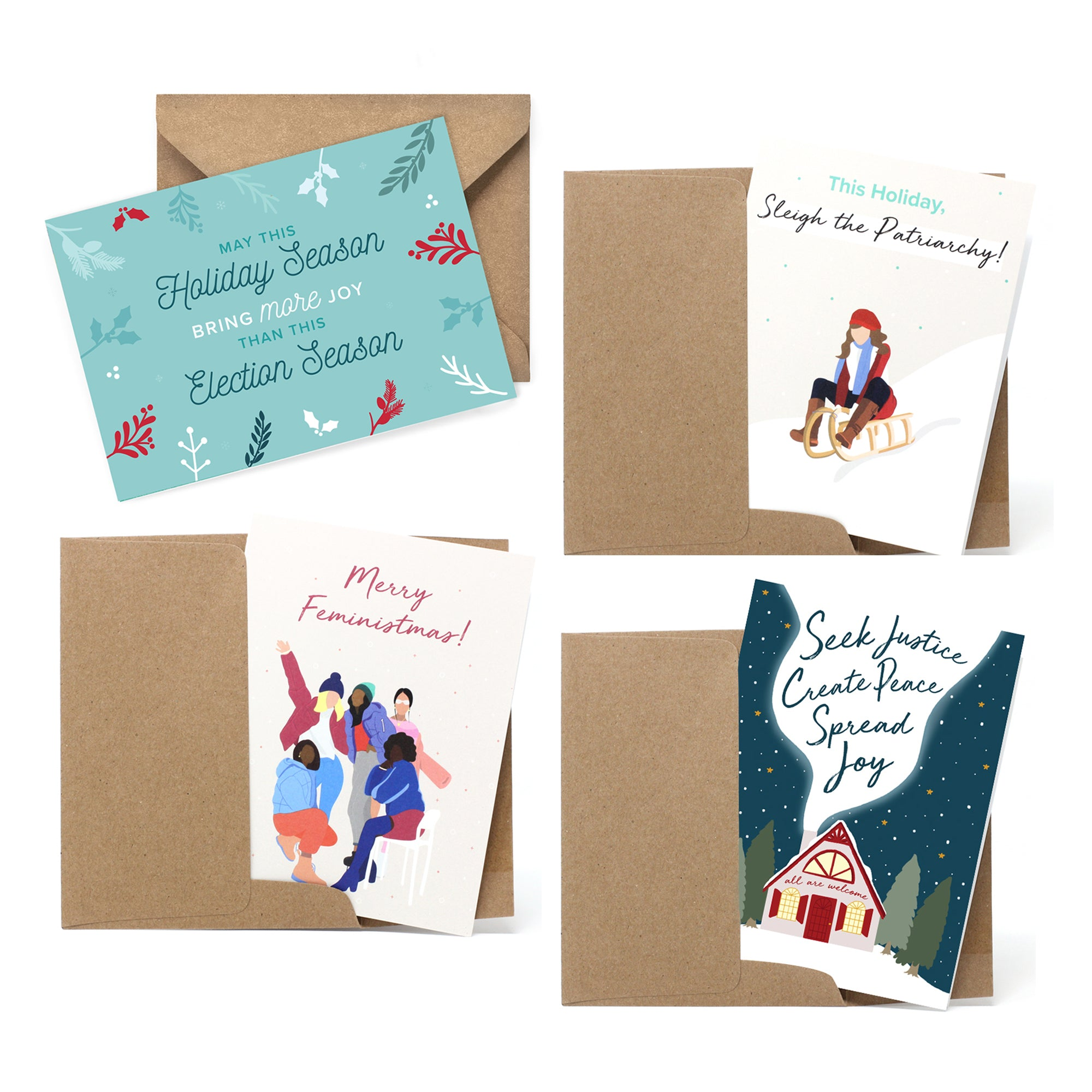 Holiday Cards - Pack of 4