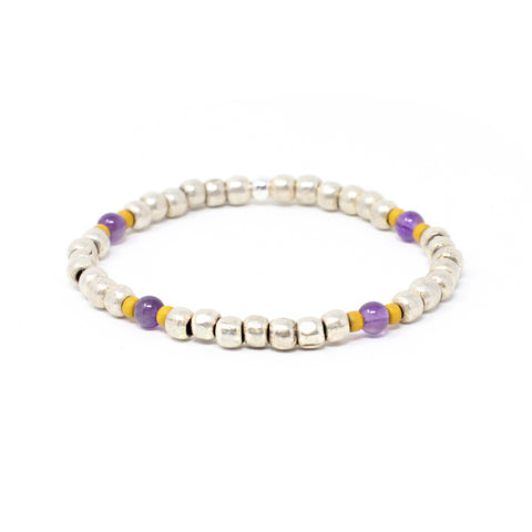 Bird + Stone Vow Beaded Bracelet