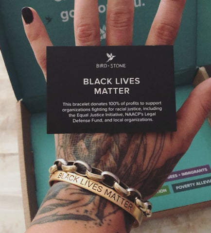 'Love is Love' and 'Black lives Matter' Cuff Set