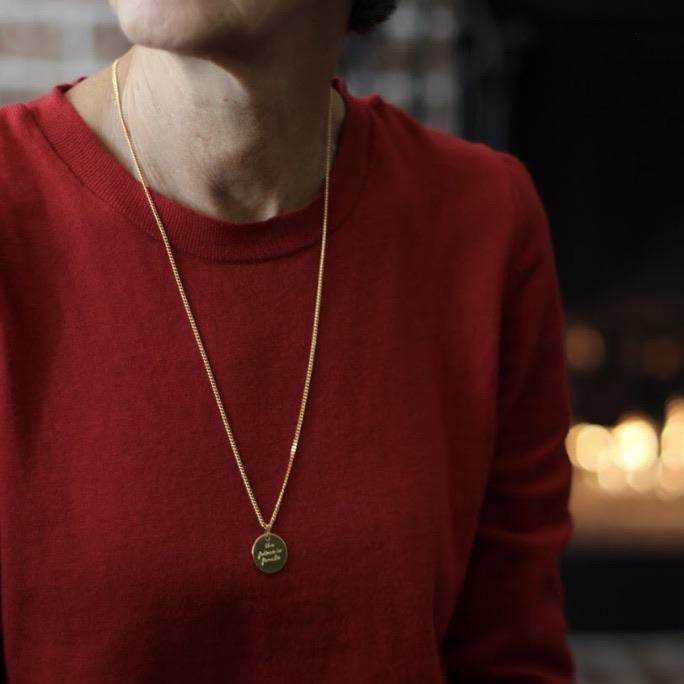The Future is Female Necklace - Long