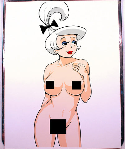Judy Jetson Pinup Comic Art Color Print NDE