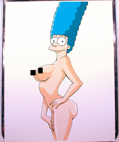 Marge Pinup Comic Art Color Print NDE