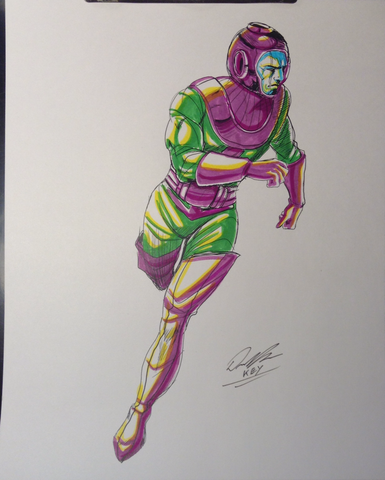 Kang the Conqueror Original Comic Art