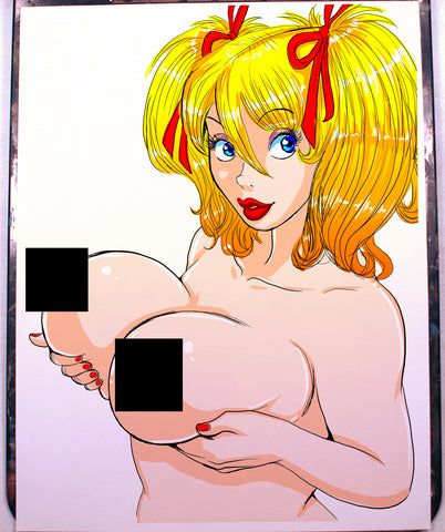 Mandy Pinup Comic Art Color Print NDE