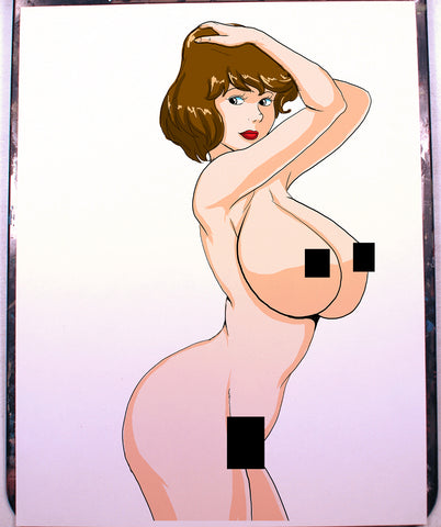 April O'Neil Pinup Comic Art Color Print NDE