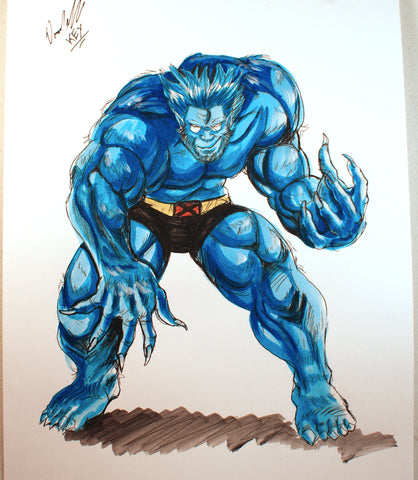 Beast Original Comic Art