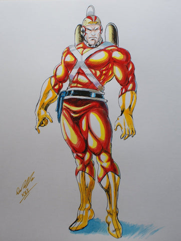Adam Strange Original Comic Art