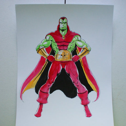 Drax the Destroyer Original Comic Art