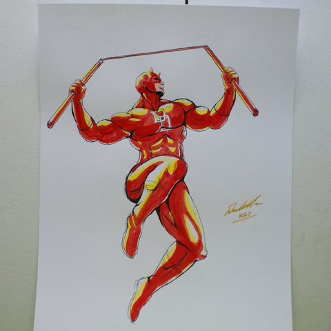 Daredevil Original Comic Art