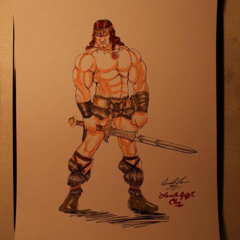 Conan Original Comic Art