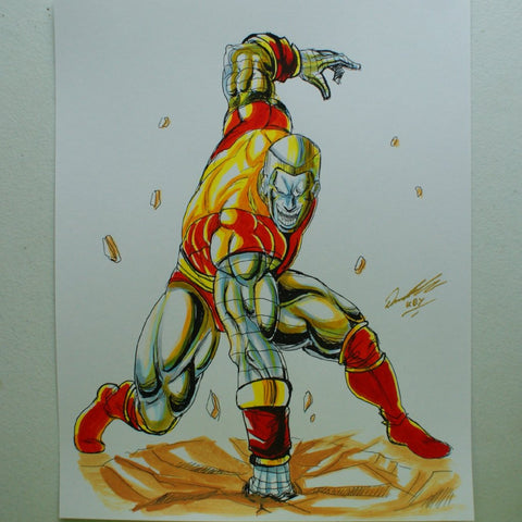 Colossus Original Comic Art