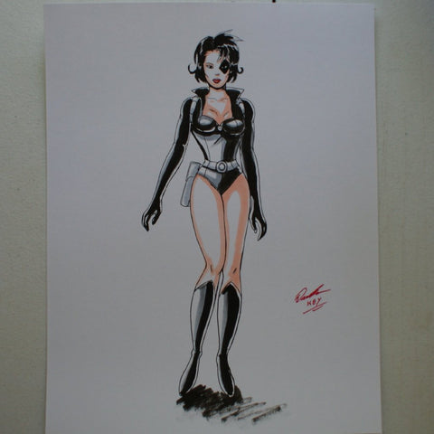 Domino Original Comic Art