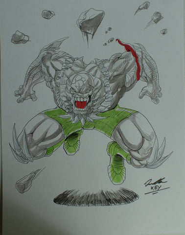 Dooms Day Original Comic Art