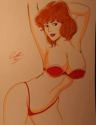 April O'Neil Original Comic Art