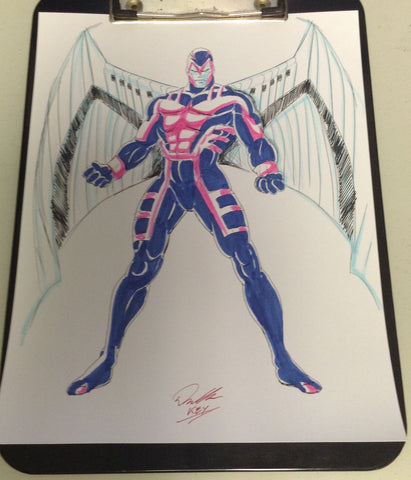 Archangel Original Comic Art
