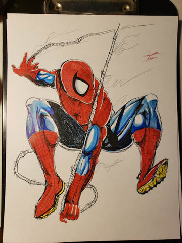 Spiderman Original Comic Art