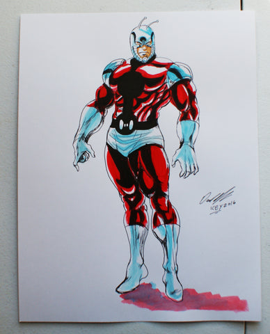 Antman Original Comic Art