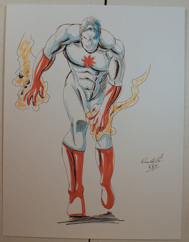Atom Original Comic Art