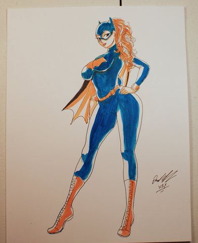 Batgirl Original Comic Art
