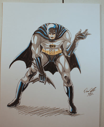 Batman Original Comic Art