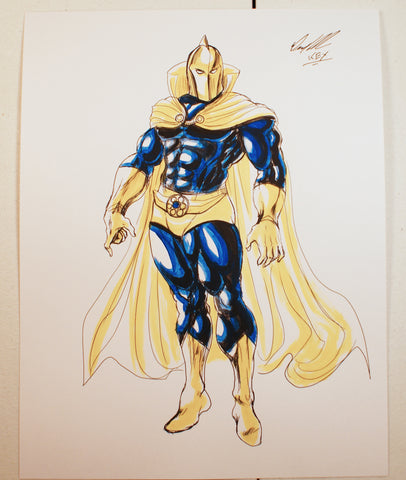 Dr Fate Eric Strauss Original Comic Art