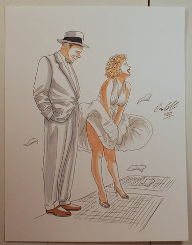 Marilyn Monroe Original Comic Art