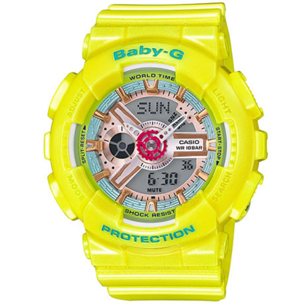 Baby G Discount Offer Store Casio Ba 112 4a Pink 110ca 9a