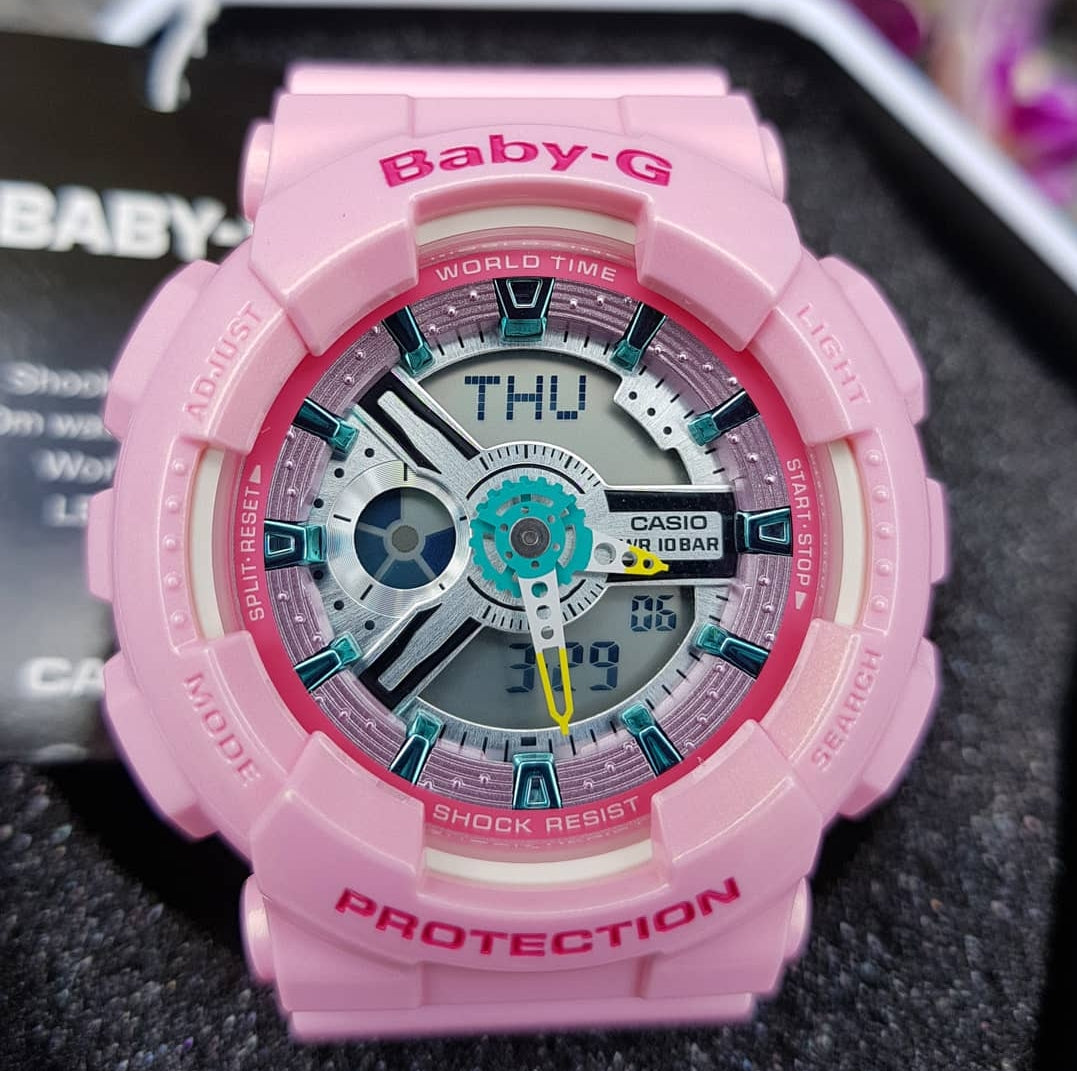 Baby G Discount Offer Store Casio Ba 112 4a Pink 110ca 4a2