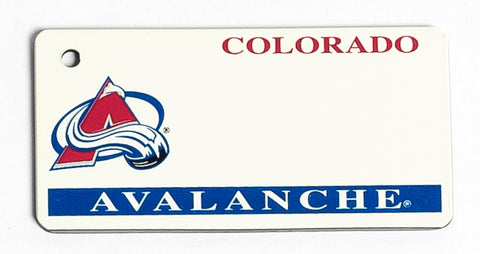 Colorado Avalanche Key Tag
