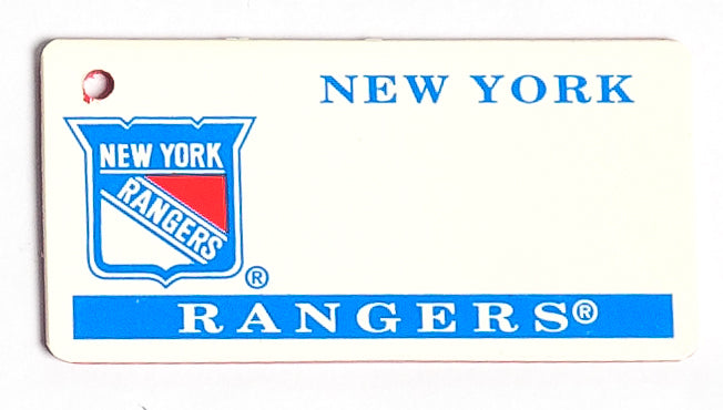New York Rangers Key Tag