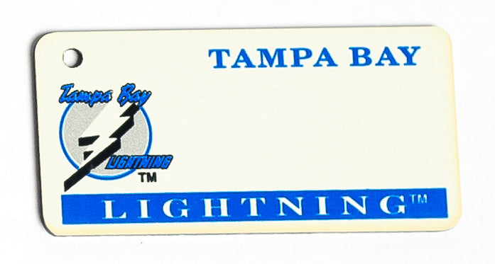 Tampa Bay Lightning Key Tag
