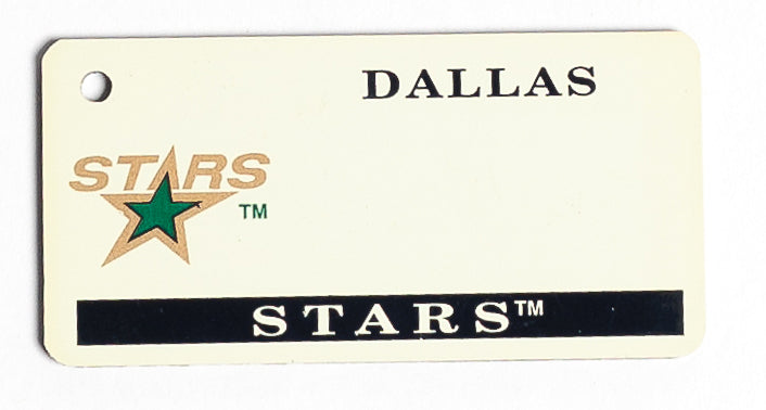 Dallas Stars Key Tag