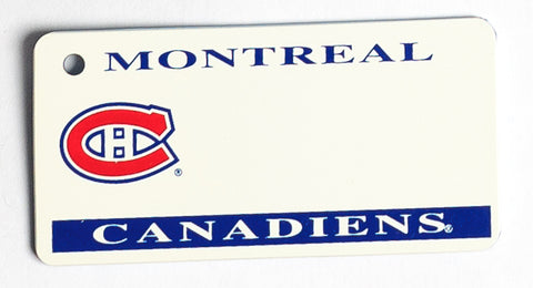 Montreal Canadiens Key Tag
