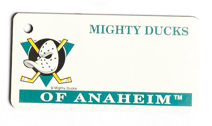 Mighty Ducks of Anaheim Key Tag